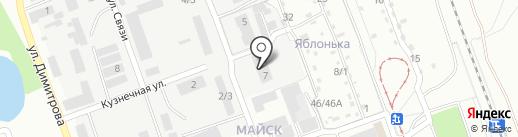 Красный Дракон на карте Ангарска