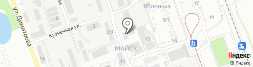 У Кузьмича на карте Ангарска