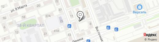 Бармалей на карте Ангарска