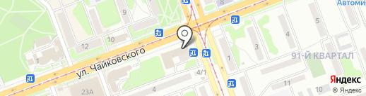 Саянский бройлер на карте Ангарска