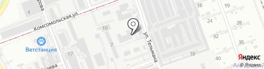 Коктейль на карте Ангарска