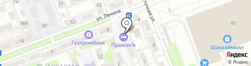 ПушкинЪ на карте Ангарска