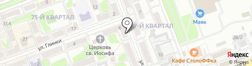 ВидеоКонтроль на карте Ангарска