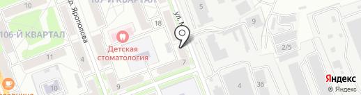 Eva на карте Ангарска