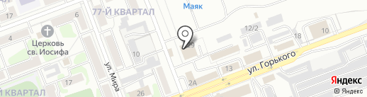 Дилором на карте Ангарска