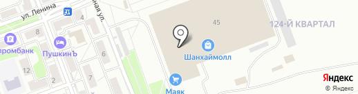 Русский Джип на карте Ангарска