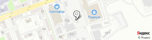 СибДорСтиль на карте Ангарска