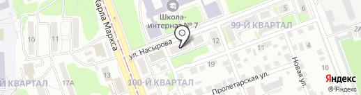 Матрица на карте Ангарска