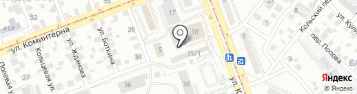 Про100 на карте Ангарска