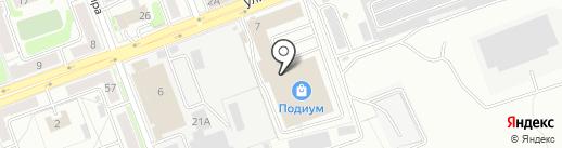 Сарма на карте Ангарска