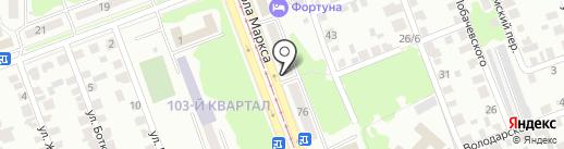 Энергетик, АНО на карте Ангарска