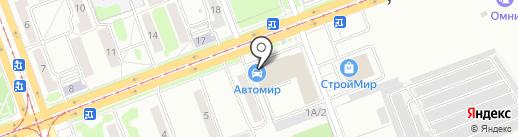 Первый Визовый Центр на карте Ангарска