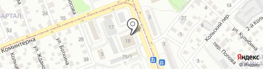 Хмельноф на карте Ангарска