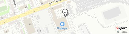 Алента на карте Ангарска