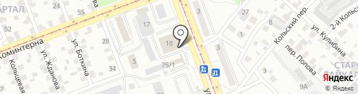 Хороший на карте Ангарска