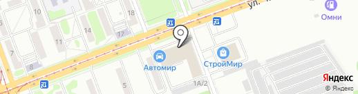 Амур Деталь на карте Ангарска