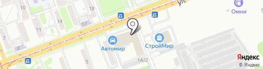Усольские желтые страницы на карте Ангарска