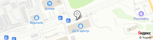 Палитра на карте Ангарска