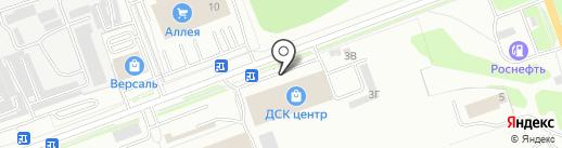 Ковроцентр на карте Ангарска