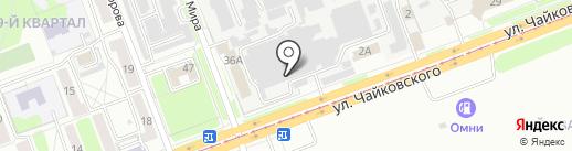 Авангард+ на карте Ангарска