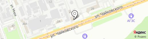 М2 на карте Ангарска