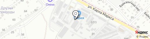 ХмельноФФ на карте Ангарска