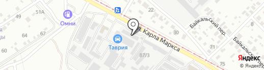 МАСЛЕНКА на карте Ангарска
