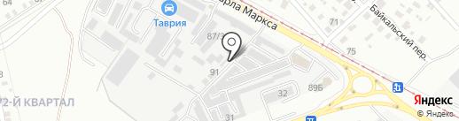 Зимовье на карте Ангарска