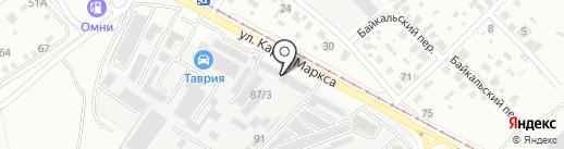 Автомир на карте Ангарска