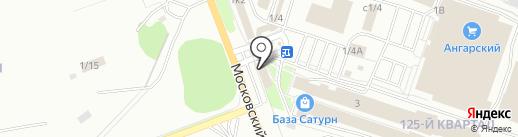 Кайрос на карте Ангарска