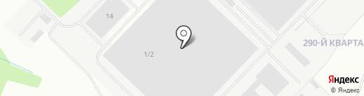 Нова на карте Ангарска