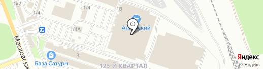 Мы из Простоквашино на карте Ангарска