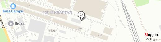 Карнавал на карте Ангарска