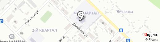 Основная общеобразовательная школа №22 на карте Ангарска