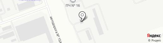 ЭВАЛИС на карте Ангарска
