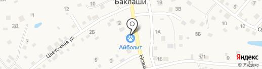 Ника-Вет на карте Баклаш