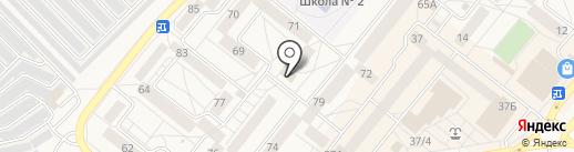 Янта на карте Шелехова