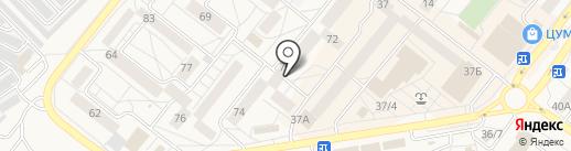 Багульник на карте Шелехова