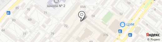 СВ+ на карте Шелехова