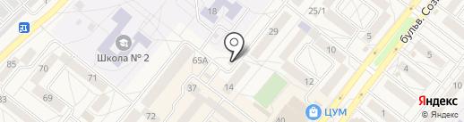 Провиант на карте Шелехова