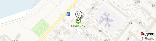 Замкофф на карте Шелехова