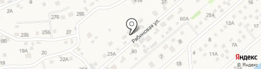 Флористика на карте Баклаш