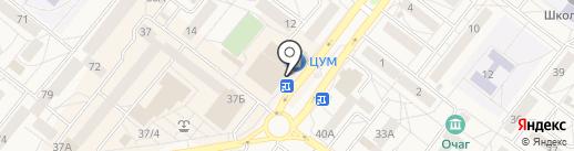 Слата на карте Шелехова