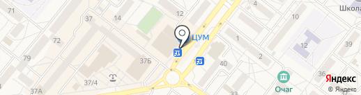 Киоск по продаже печатной продукции на карте Шелехова