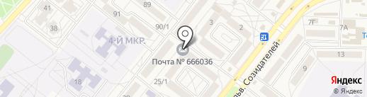 Почта Банк, ПАО на карте Шелехова