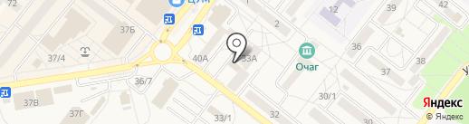 Макфудс на карте Шелехова