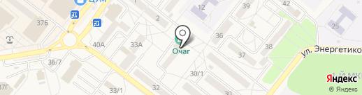 Ратибор на карте Шелехова
