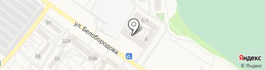 г. Шелехов на карте Шелехова