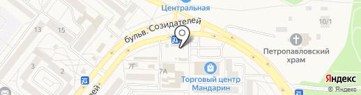 Гримерка на карте Шелехова