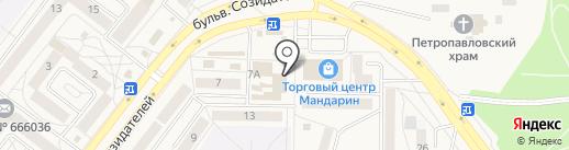 Магазин ковров на карте Шелехова